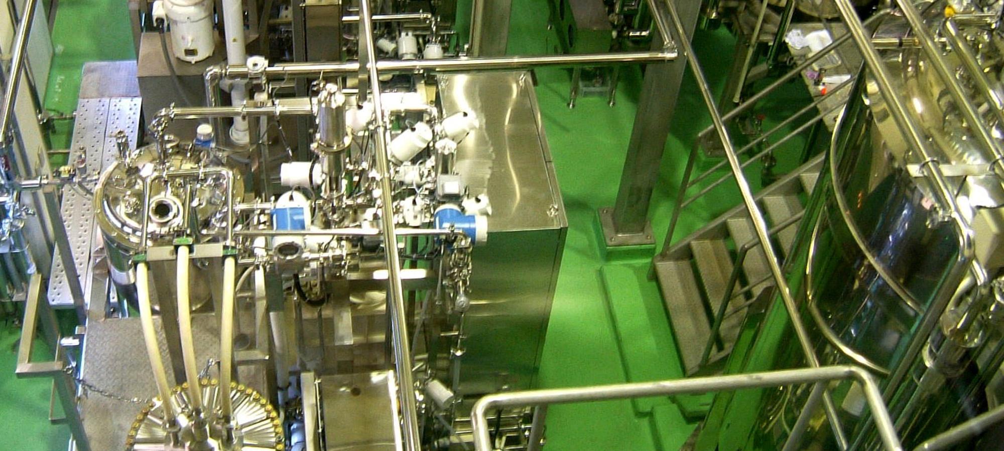 葉緑素濃縮工程