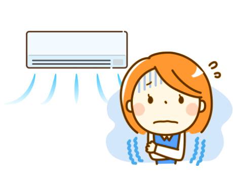 夏のエアコンの使い過ぎ